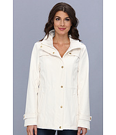Ellen Tracy  Snap Front Anorak Soft Shell with Hood  image