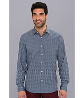 Perry Ellis - Slim Fit L/S Droplet Print Shirt