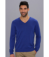 Perry Ellis - L/S Cotton Rayon V-Neck Sweater