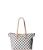 Dooney & Bourke - Polka Dot Zip Top Shopper