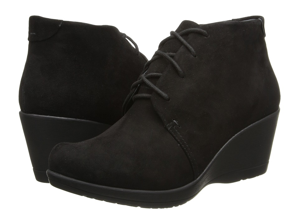 Dansko Renee (Black Kid Suede) Women's Lace-up Boots