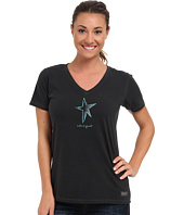 Life is good - Watercolor Star Crusher™ V-Neck Tee