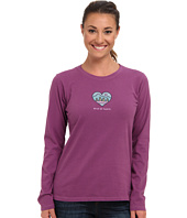 Life is good - Wild At Heart Crusher™ L/S Tee