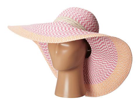 Echo Design - Multi Patterned Floppy Hat (Fuchsia) - Hats