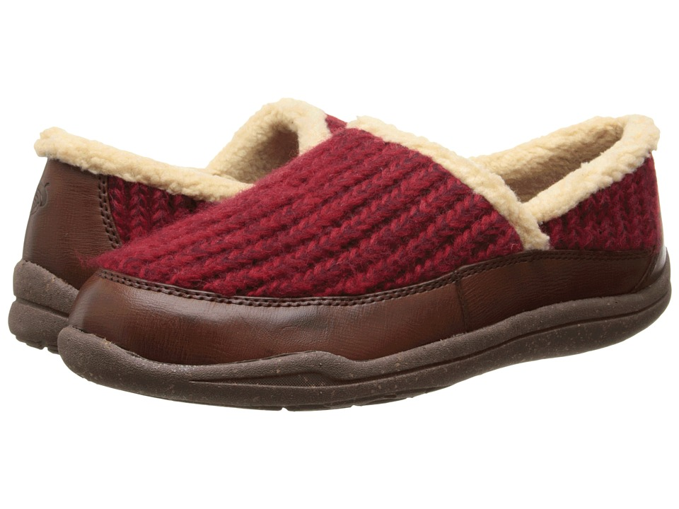 Acorn WearAbout Moc with FirmCore (Cranberry) Women