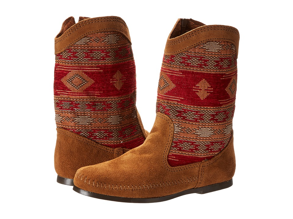 Minnetonka Baja Boot (Red) Women