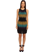 M Missoni - Color Block Ripple Knit Dress