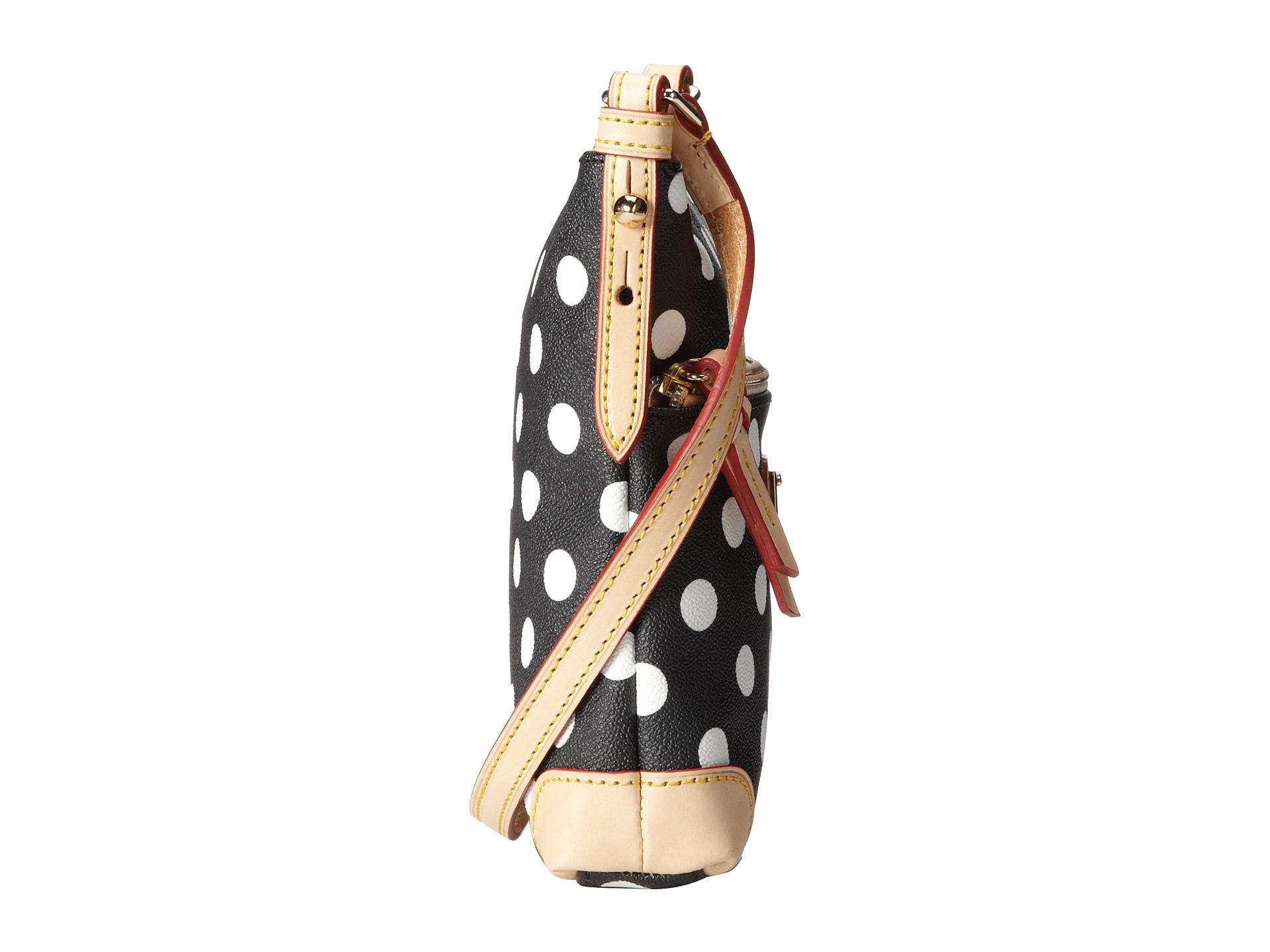 Dooney bourke polka dot letter carrier bags women for Best shoes for letter carriers