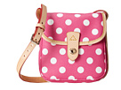 Dooney & Bourke Polka Dot Small North/South Crossbody