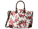 Dooney & Bourke Carbbage Rose Satchel