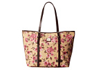Dooney & Bourke Carbbage Rose East/West Shopper