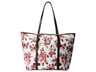 Dooney & Bourke Cabbage Rose East/West Shopper