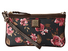 Dooney & Bourke Carbbage Rose Large Slim Wristlet