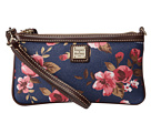 Dooney & Bourke Cabbage Rose Large Slim Wristlet