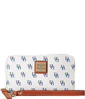 Dooney & Bourke - Gretta Zip Around Credit Card Phone Wristlet
