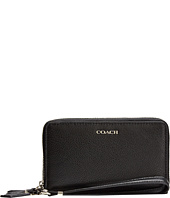 COACH - Madison Leather Double Zip Phone Wallet