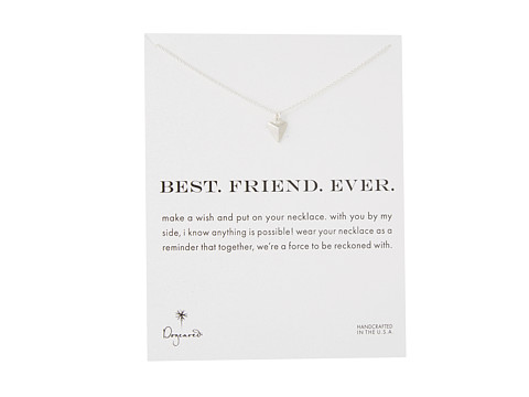 Dogeared Best. Friend. Ever. Pyramid Heart Reminder