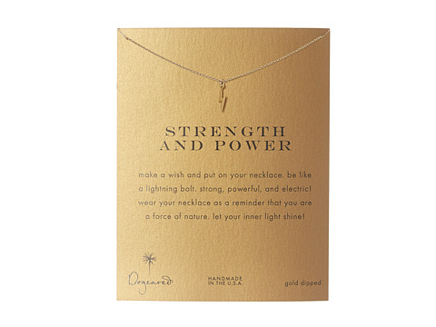 Dogeared Strength and Power Reminder