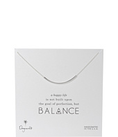 Balance Tube Necklace Sterling  Silver