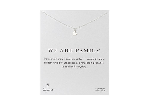 Dogeared We Are Family Heart Reminder