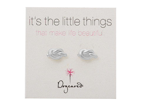 Dogeared Little Things Simple Knot Studs