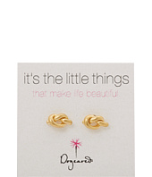 Dogeared - Little Things Simple Knot Studs
