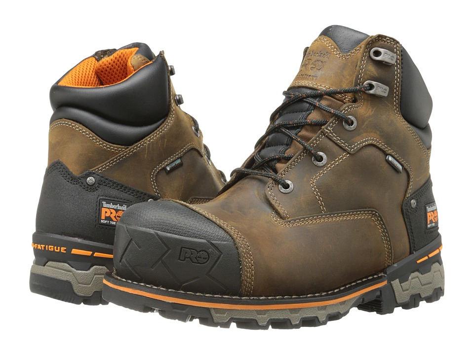 Timberland PRO Boondock 6 Soft Toe WP (Brown) Men