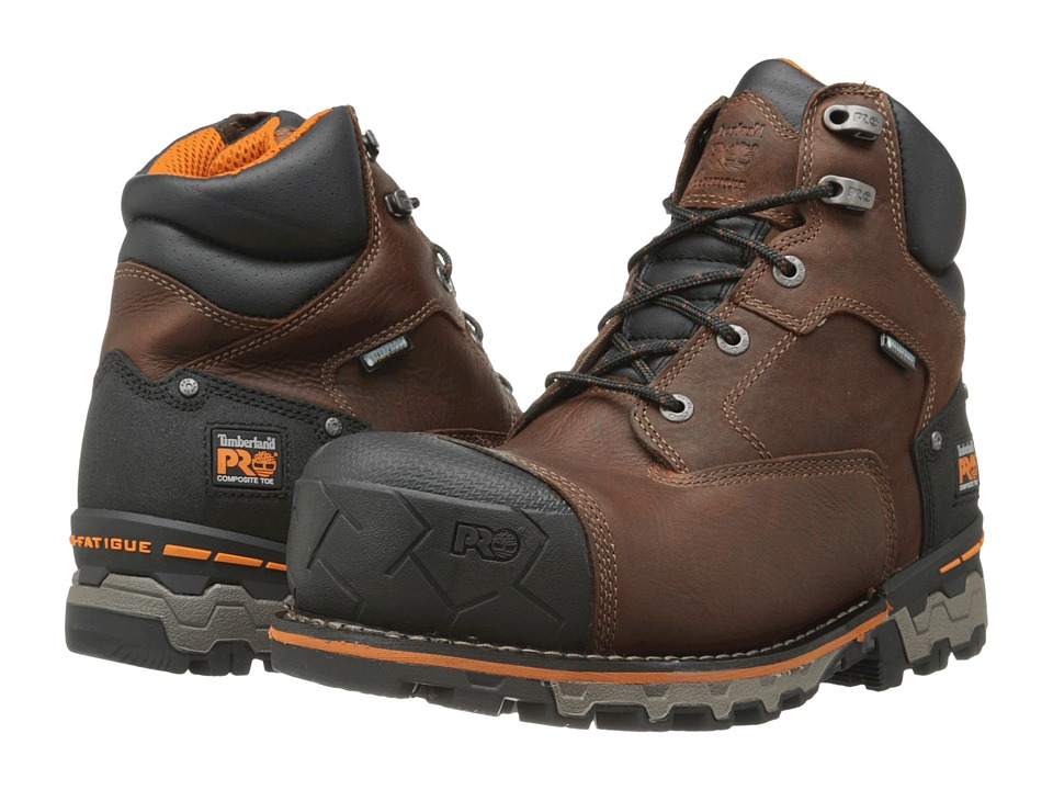 Timberland PRO Boondock 6 Comp Toe WP Ins (Brown) Men