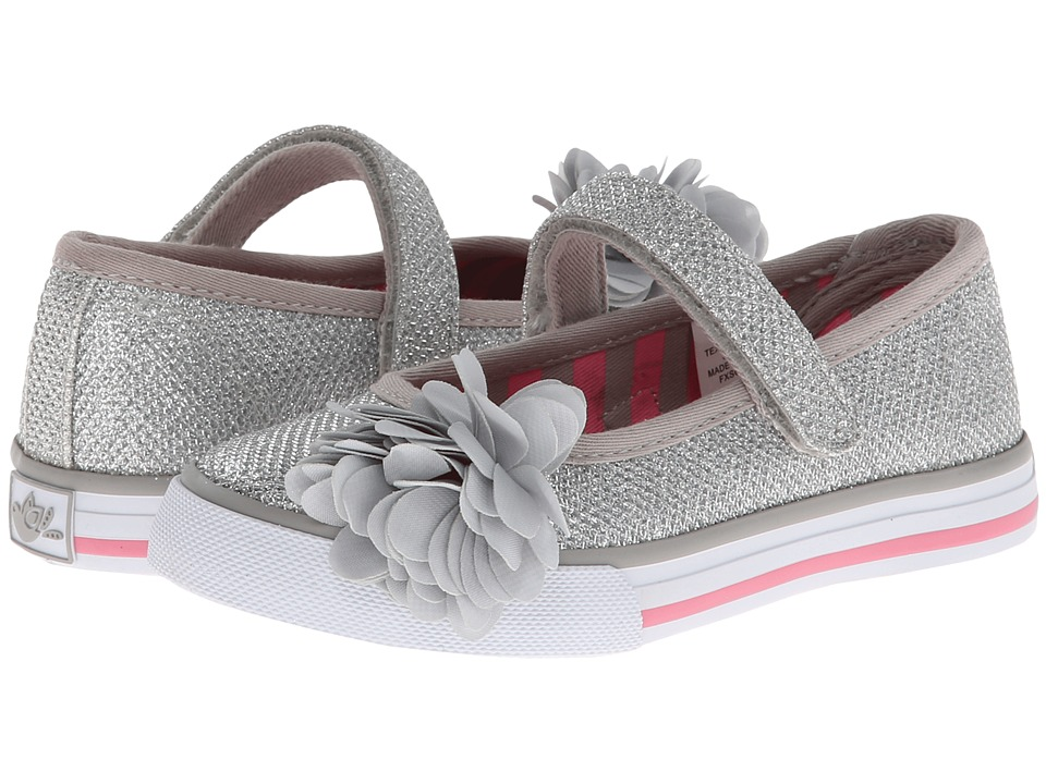 Hanna Andersson Petra Toddler/Little Kid Silver Girls Shoes