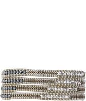 Chan Luu - 32' Hematite/Iceberg Wrap Bracelet