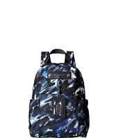 Marc by Marc Jacobs - Pretty Nylon Painterly Blue Print Backpack