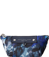 Marc by Marc Jacobs - Pretty Nylon Painterly Blue Print Small Perfect Pouch