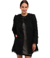 RED VALENTINO - Fuzzy Faille Coat