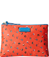 Marc by Marc Jacobs - Coated Canvas Achira Medium Clutch