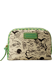 Marc by Marc Jacobs - Coated Canvas Doodle Print Large Cosmetic Pouch
