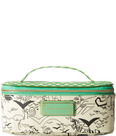 Marc by Marc Jacobs - Coated Canvas Doodle Print Large Travel Cosmetic