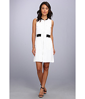 Calvin Klein - Zip Front Dress w/ Pocket