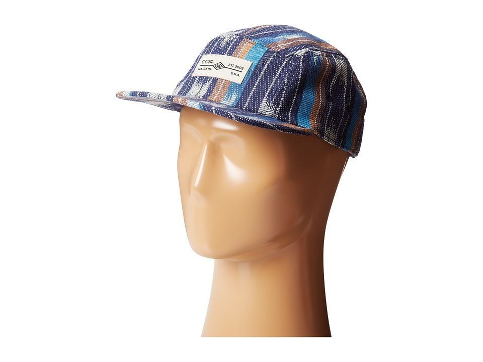 Image of Coal The Richmond (Blue Stripe) Caps