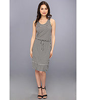 TWO by Vince Camuto - Parallel Lines Drawstring Dress