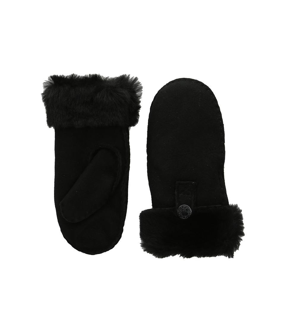 UGG Kids Bailey Mitten (Black) Dress Gloves