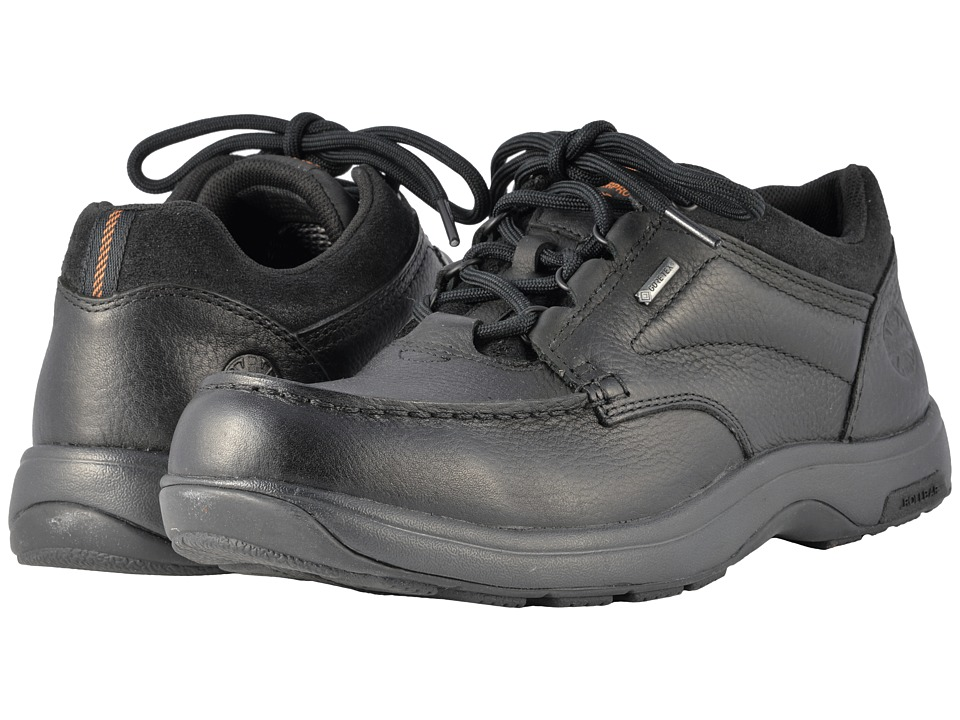 Dunham Exeter Low Gore-Tex(r) Waterproof (Black) Men