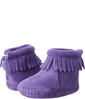 Minnetonka Kids - H&L Back Flap Bootie (Infant/Toddler)
