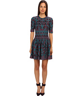 M Missoni - Art Deco Fleur De Lis Jacquard Dress