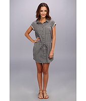 Paige - Mila Shirtdress in Montauk Grey