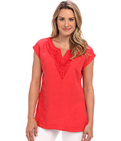 Tommy Bahama - Two Palms Embellished Cap-Sleeve Tunic