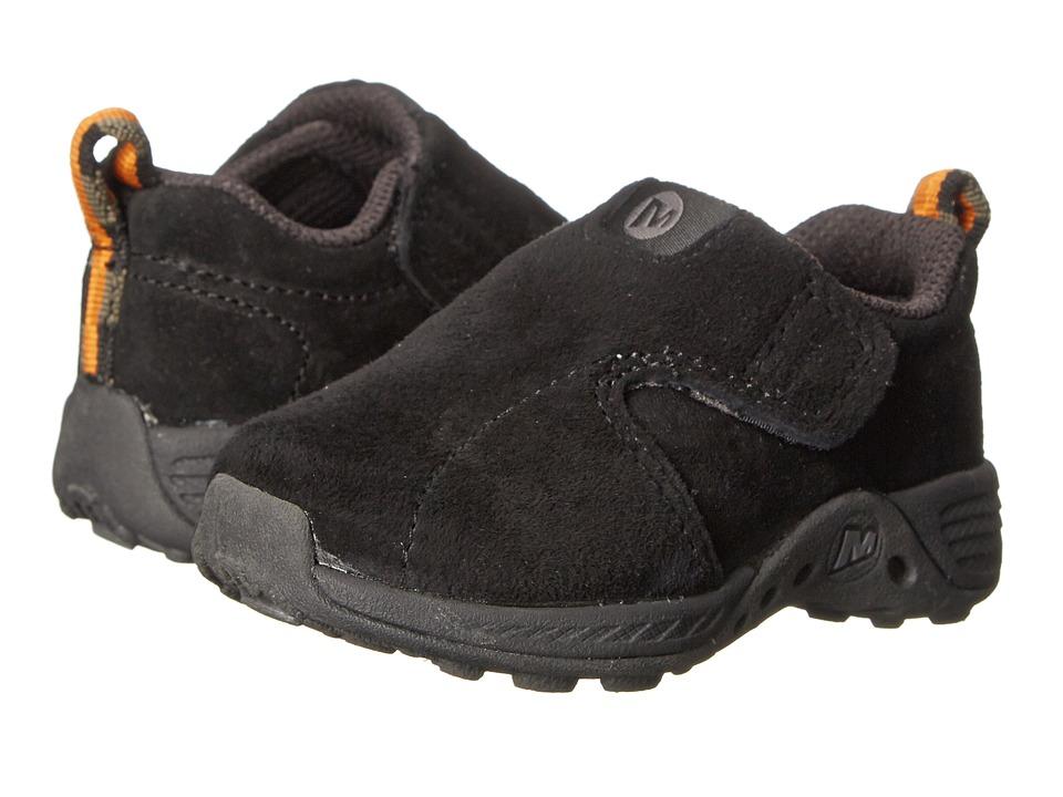 Merrell Kids Jungle Moc Jr Toddler Black Boys Shoes