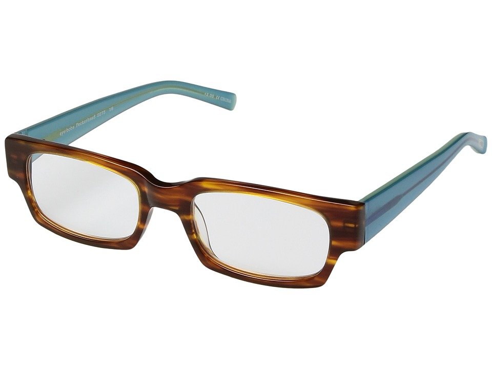 eyebobs Peckerhead (Brown/Blue Crystal) Reading Glasses Sunglasses