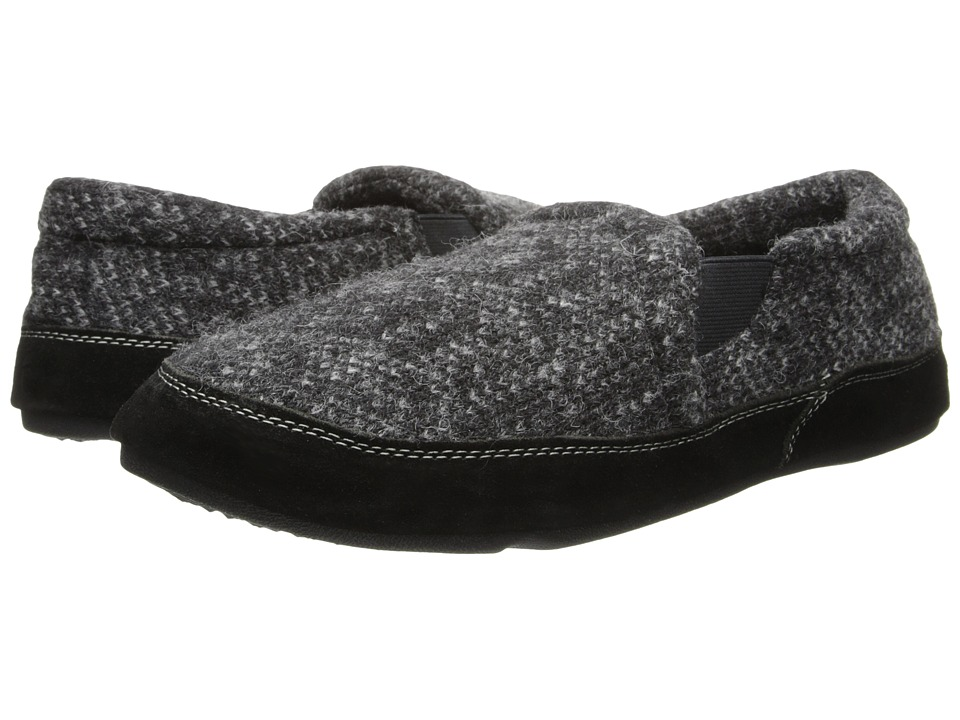 Image of Acorn - Fave Gore (Charcoal Tweed) Men's Slippers