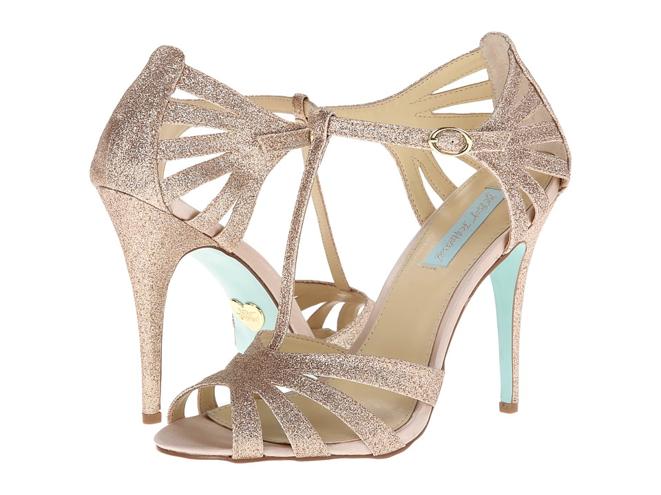 Blue by Betsey Johnson Tee (Champagne) High Heels