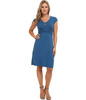 Tommy Bahama - Tambour Short Sleeve Keyhole Dress